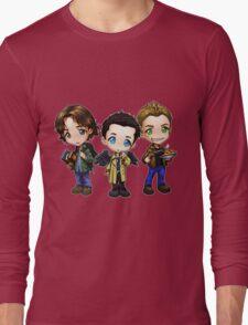 Supernatural cartoon trio Long Sleeve T-Shirt