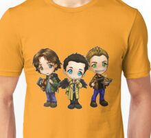 Supernatural cartoon trio Unisex T-Shirt