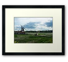 Cley Mill Framed Print