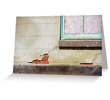 Old places are simply more interesting Greeting Card