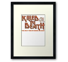 Motorhead Killed By Death Heavy Metal Framed Print