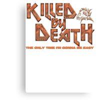 Motorhead Killed By Death Heavy Metal Canvas Print