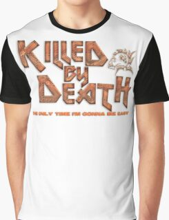 Motorhead Killed By Death Heavy Metal Graphic T-Shirt