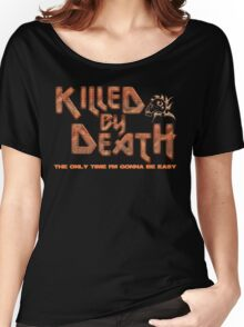 Motorhead Killed By Death Heavy Metal Women's Relaxed Fit T-Shirt