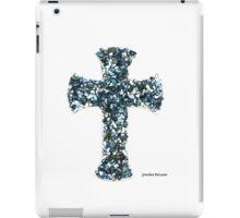 Custom Blue Cross iPad Case/Skin