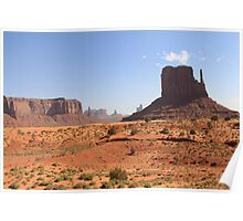 Monument Valley, Utah, USA Poster