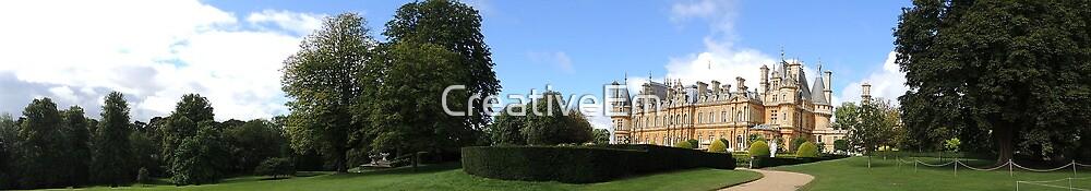 Waddesdon Manor - Panoramic by CreativeEm