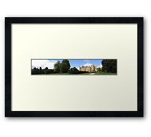 Waddesdon Manor - Panoramic Framed Print