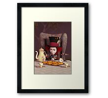 The Hatter - Tea Time Framed Print
