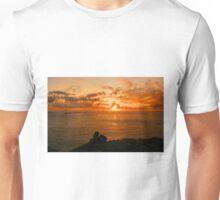 A Land's End Sunset Unisex T-Shirt