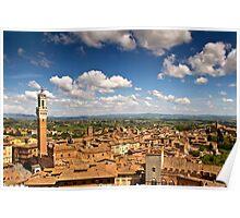 Siena & Beyond Poster