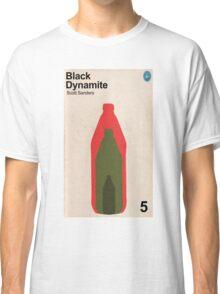 Black Dynamite Retro Book Cover Classic T-Shirt