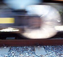 Train Eight   08 10 12 by Robert Phillips