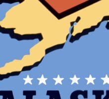 Alaska - Death Trap For The Jap - WW2 Propaganda Sticker