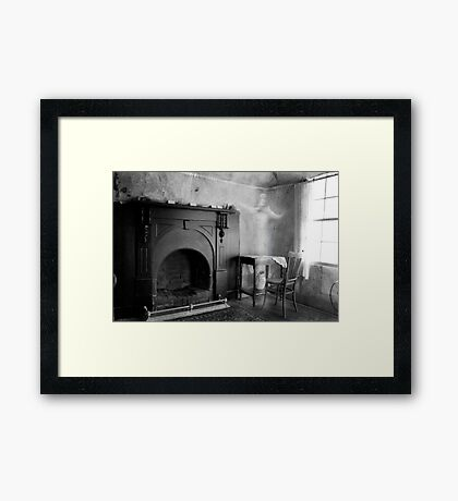 Haunted...... Framed Print