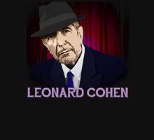 Leonard Cohen Singer Songwriter Design Unisex T-Shirt