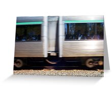 Train Five Greeting Card