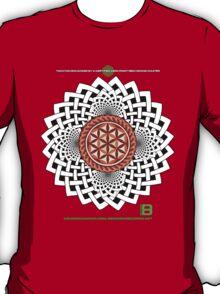CELTIC FLOWER OF LIFE VORTEX MERCH OCT 2012 T-Shirt
