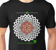 CELTIC FLOWER OF LIFE VORTEX MERCH OCT 2012 Unisex T-Shirt