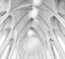 Fishbone - Reykjavik Church by Mel Sinclair