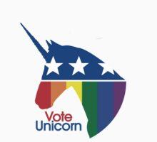 Vote Unicorn by Ariane Iseger