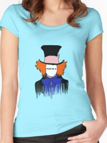 mad as a Women's Fitted Scoop T-Shirt