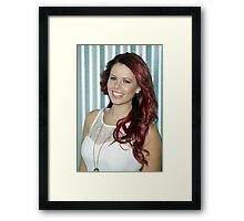 Tori Darke Framed Print