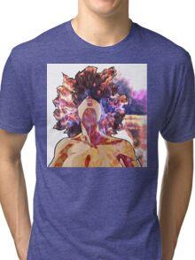 Girl On Fire Tri-blend T-Shirt