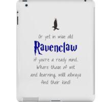 Ravenclaw (Movie Colors) iPad Case/Skin