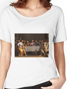 The Last Supper by Philippe de Champaigne (1648) Women's Relaxed Fit T-Shirt