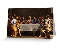 The Last Supper by Philippe de Champaigne (1648) Greeting Card