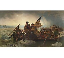 Washington Crossing The Delaware Photographic Print