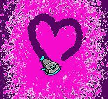 Suckerfish Heart by ClarePaterson