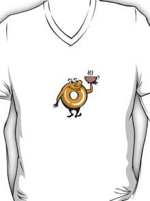 Slocum's Joe Mascot - Coffee and Donuts - Fallout 4 T-Shirt