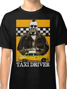 Taxi Driver Travis Bickle New York Design Classic T-Shirt