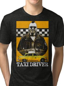Taxi Driver Travis Bickle New York Design Tri-blend T-Shirt