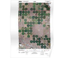 USGS Topo Map Washington State WA Winchester SW 20110425 TM Poster