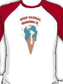 Melting earth T-Shirt