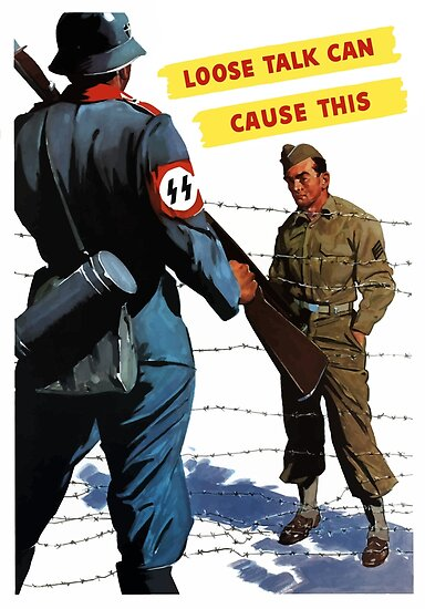 Loose Talk Can Cause This - WW2 by warishellstore