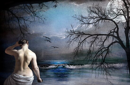 Skinny-dipping by © Kira Bodensted