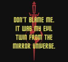 Don't Blame Me - Mirror, Mirror by Buleste