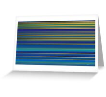 lines 10 Greeting Card