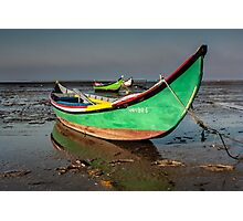 Traditional boat Portuguese Photographic Print