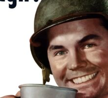 Do With Less So They'll Have Enough - WW2 Sticker