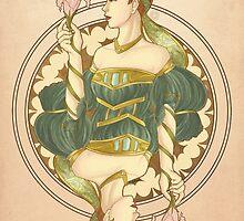 Queen Noveau by danaelight