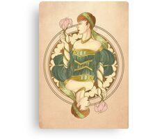 Queen Noveau Canvas Print