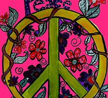 PINK PEACE  by Maureen Zaharie