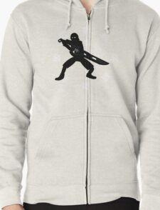The Future Doesn't Belong To You- Xenoblade Chronicles Zipped Hoodie