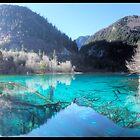 Jiuzhaigou national park in China by jonshock