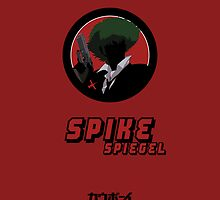 Cowboy Bebop - Spike (iPhone) by Adam Angold
